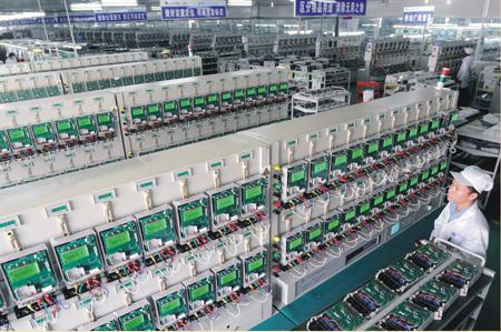 电表生产车间-上海人民电器集团科技有限公司